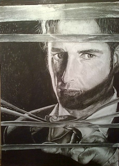 Josh Lucas's Portrait as lawyer  Mitch Mcdeer on Sony Entertaintment Television on Dstv by Thabo Sejesho