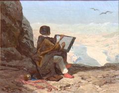 Jules Laurens painting Euphrates