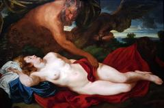 Jupiter as Satyr by Antiope