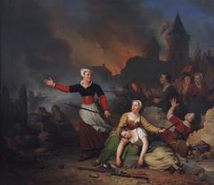 Kenau Simonsdr Hasselaer during the Siege of Haarlem