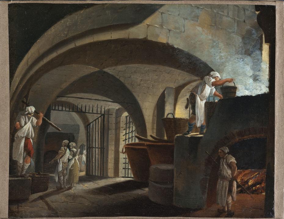 La fonderie des suifs à l'Hôtel-Dieu
