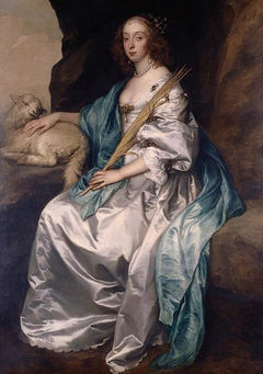 Lady Mary Villiers, Duchess of Richmond and Lennox (1622-85)
