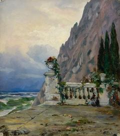Landscape in Crimea