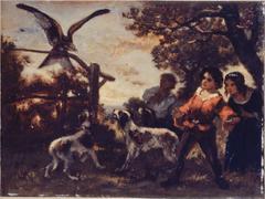 Les enfants au faucon