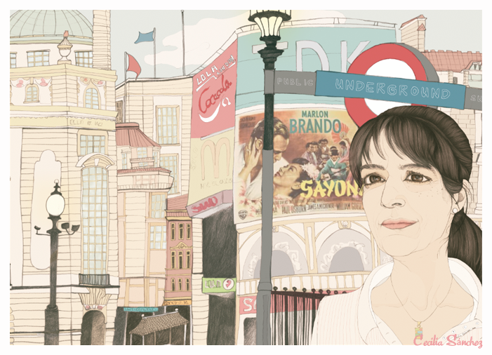 Lola en Piccadilly Circus