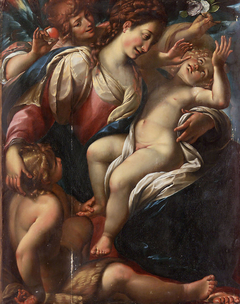 Madonna and Child with St. John and an Angel