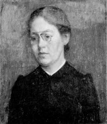 Malerinden Elisabeth Wandel