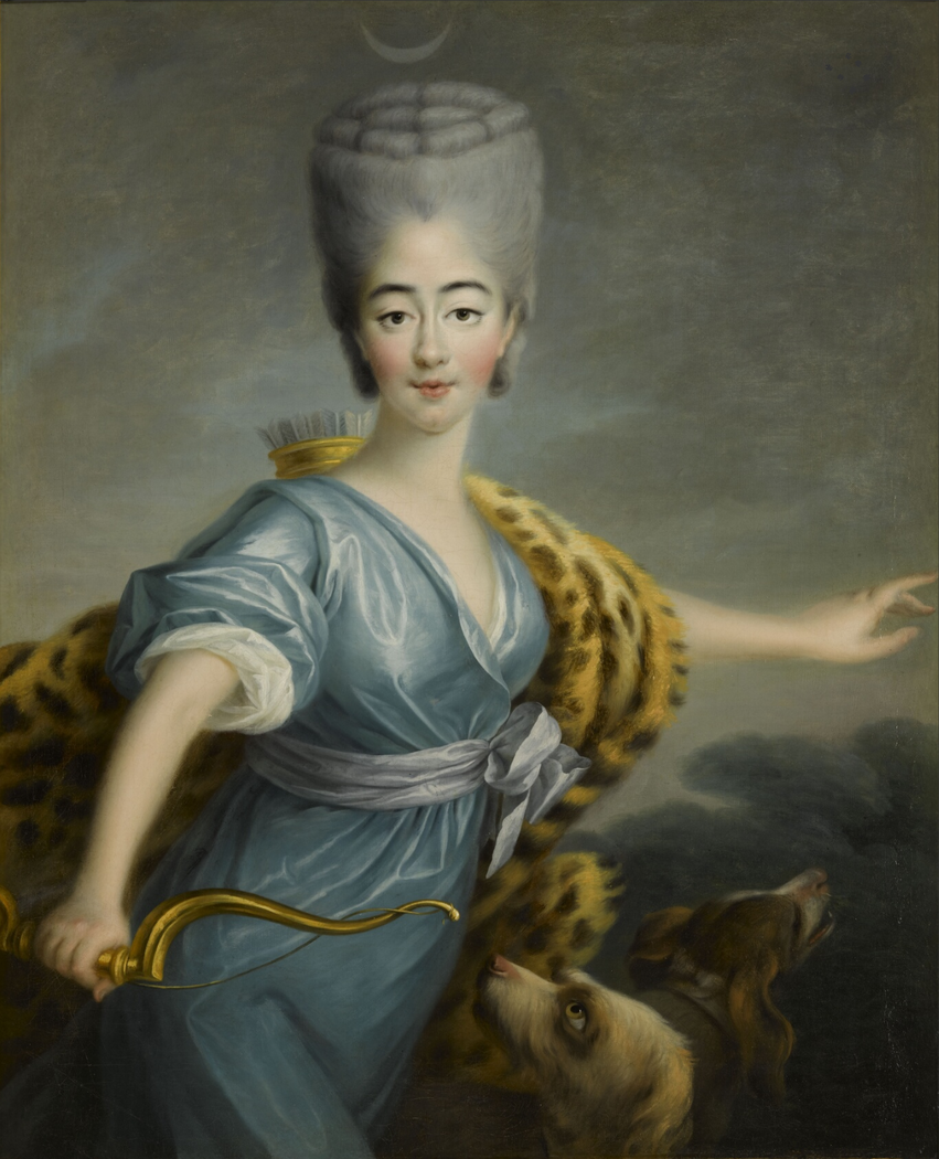Marie Joséphine of Savoy as Diana