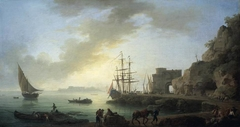 Mediterranean Port at Dawn