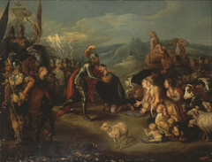 Meeting of Esau and Jacob