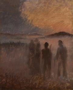 Men of Skagen returning from the hunt