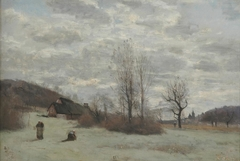 Morning landscape around Beauvais