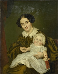 Mrs. Carp and her young Son