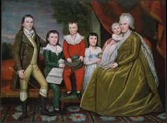 Mrs. Noah Smith and Her Children
