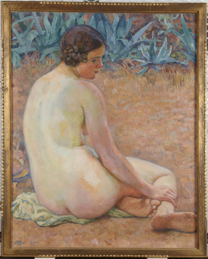 Nude with agave (Nu aux agave)