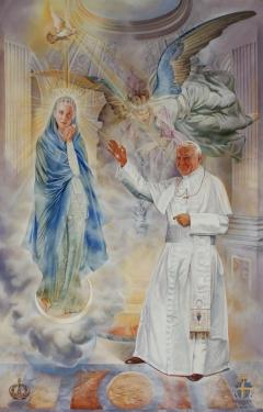 Last Official Portrait of Pope John Paul II
