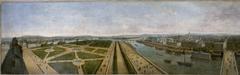 Panorama de Paris pris du toit du pavillon de Flore, aux Tuileries