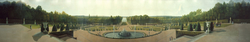 Panoramic View of the Palace and Gardens of Versailles