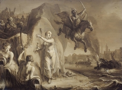 Perseus and Andromeda. Allegory of the liberation of the Netherlands by Prince Frederik Hendrik