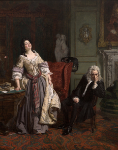 Pope Makes Love To Lady Mary Wortley Montagu