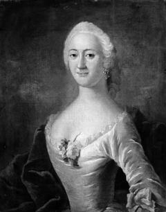 Portræt af brygger M. Christensens hustru