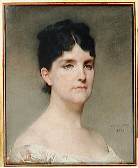 Portrait de Madame José-Maria de Hérédia, en buste