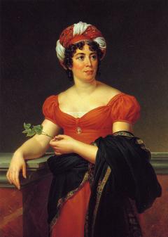 Portrait de Mme de Staël
