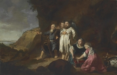 Portrait historié of Moses and Aaron beholding the promised land, 1633