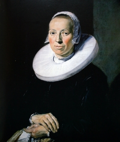 Portrait of a 35-year-old woman