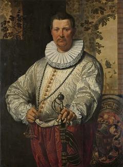 Portrait of a Dutch Admiral of the Fleet
