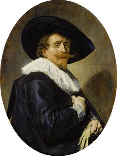 Portrait of a man aged 34