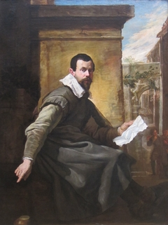 Portrait of a Man with a Sheet of Music