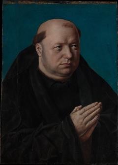 Portrait of a Monk in Prayer