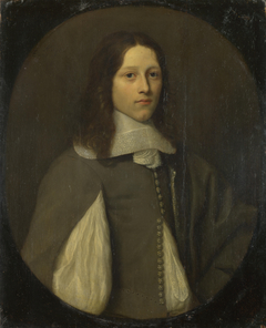 Portrait of a Young Man in Grey