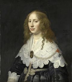 Portrait of Aegje Hasselaer, Wife of Henrick Hooft