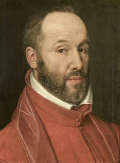 Portrait of Antoine Perrenot, Cardinal de Granvelle, Minister to Charles V and Philip II