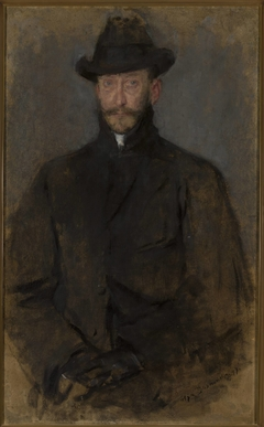 Portrait of Antoni Kamieński (1860/1861–1933), painter