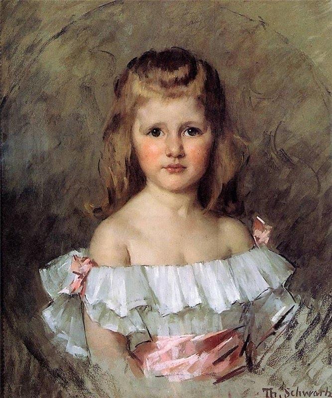Portrait of Bertha Johanna Van Tienhoven