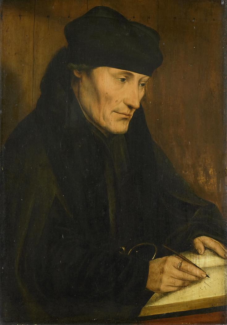 Portrait of Desiderius Erasmus (1469?-1536)