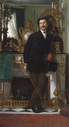 Portrait of Eugène Coppens de Fontenay