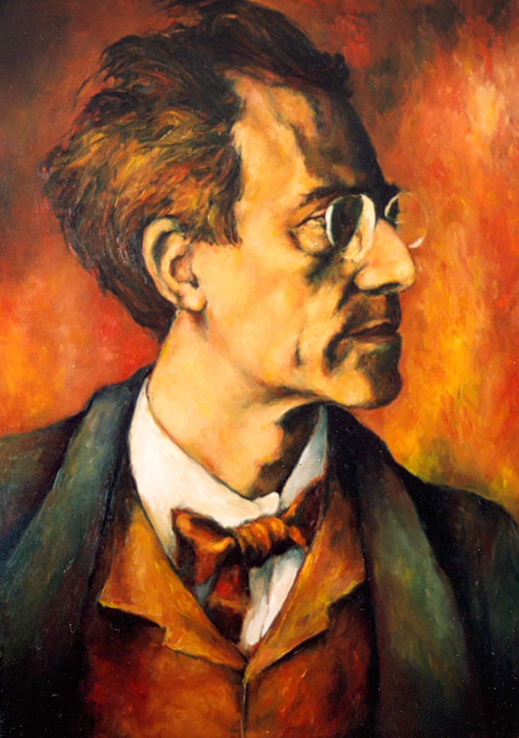 Portrait of Gustav Mahler