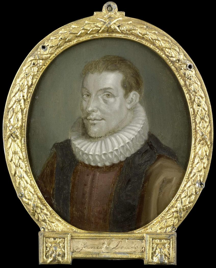 Portrait of Johan van der Does the Younger, Librarian in Leiden