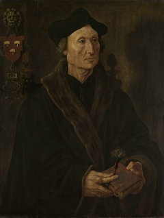 Portrait of Johannes Colmannus, Rector of the Convent of St. Agatha at Delft