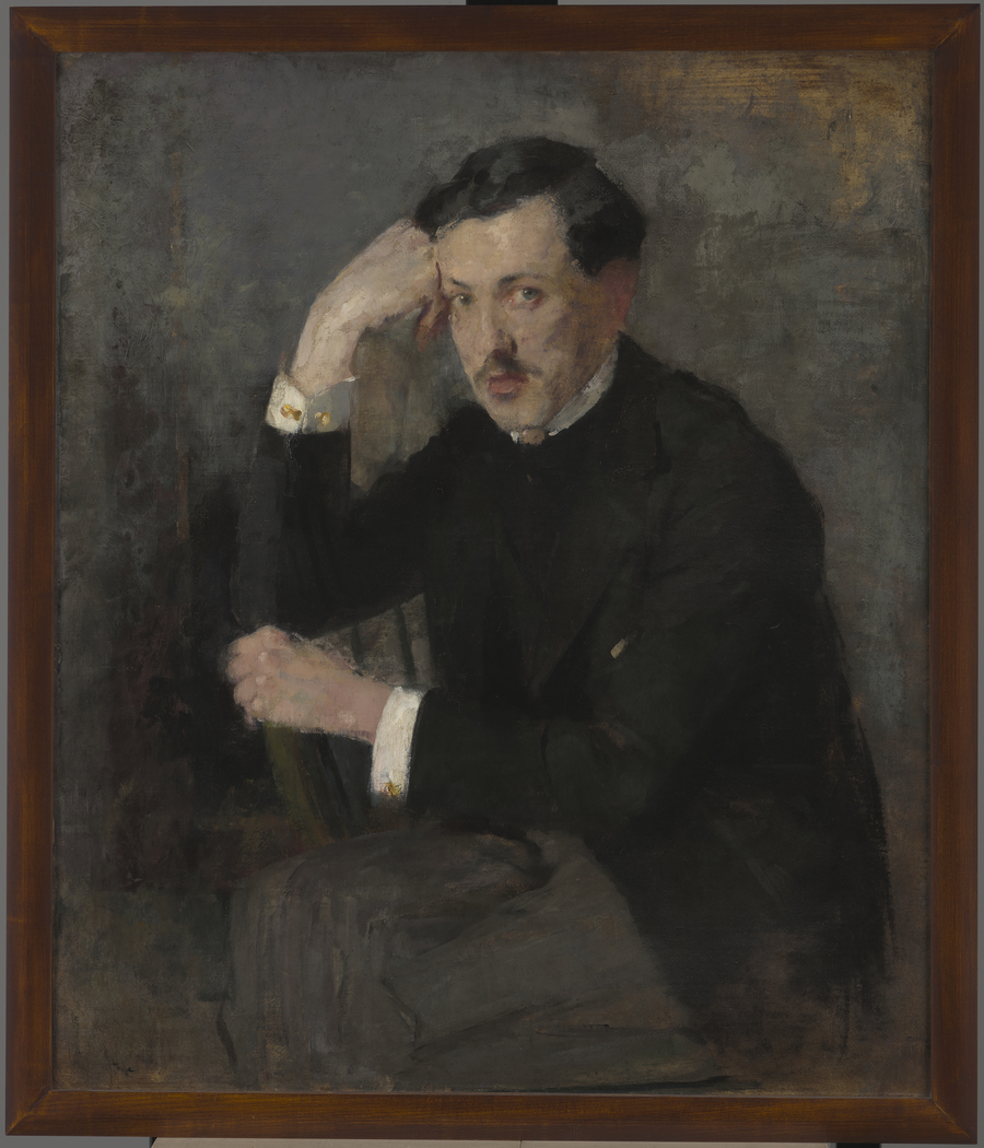 Portrait of Józef Czajkowski – two-sided painting