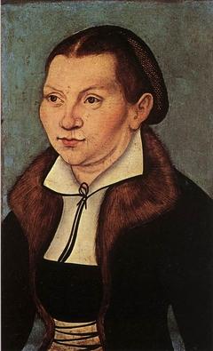Portrait of Katharina Bora