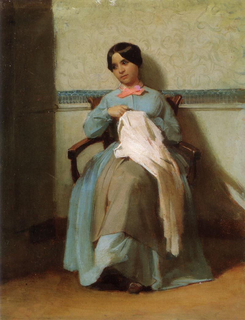 Portrait of Léonie Bouguereau