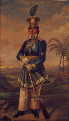 Portrait of Maria Quitéria de Jesus Medeiros