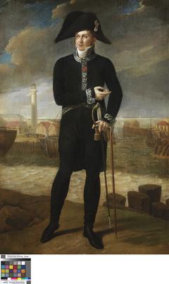 Portrait of Marquis Bernard-François de Chauvelin