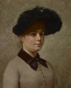 Portrait of Mary Gertrude Ethell Walker