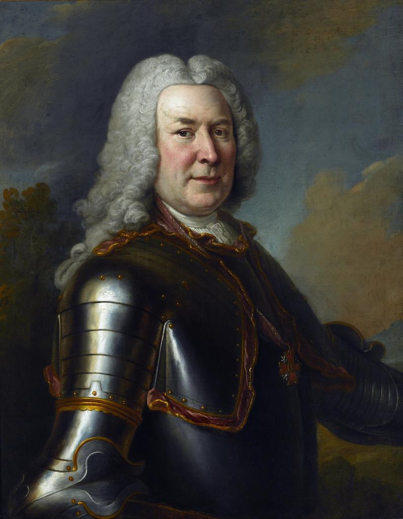 Portrait of Michał Fryderyk Czartoryski.